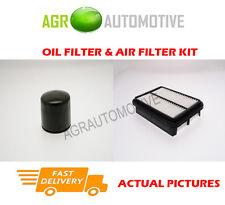 PETROL SERVICE KIT OIL AIR FILTER FOR HYUNDAI SANTA FE 2.7 173 BHP 2000-06