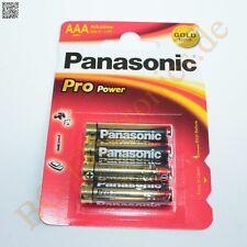 1 x LR03PPG 4BP Pro Power Batterien Micro AAA LR03PPG/4BP Panasonic  1pcs