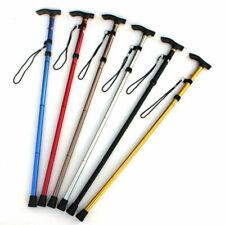 Lightweight Easy Folding Aluminium Walking Stick Walking Cane Height Adjustable