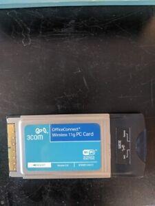 3Com OfficeConnect 11g Wireless PC Card 3CRWE154G72