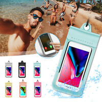 Waterproof Bag Underwater Pouch Dry Case Cover For iPhone Cell Phone
