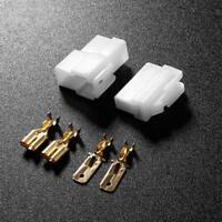 T-Typ-2-Pin DC Power Stecker für VHF/UHF Kenwood Yaesu Icom Radio Kit