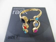 Nordstrom Rack Multi Color Open End Ring Sz 7 NWT $45
