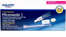 Equate Miconazole 1 Day Treatment Vaginal Antifungal Combination Pack (Read b4)