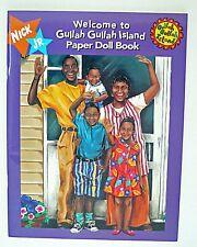 WELCOME TO GULLAH GULLAH ISLAND Paper Dolls 1996 Nickelodeon Nick Jr. Uncut