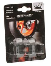 Minichamps Escala 1/12 Modelo de Bici del motor Soporte Set para réplicas de bicicleta de MotoGP (ancho)