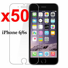 x50 Anti-scratch 4H PET film screen protector Apple iphone 6 6s front