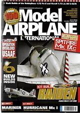 Model Airplane International Issue 107, JUNE 2014, Fine Plus, Kit Build Raiden