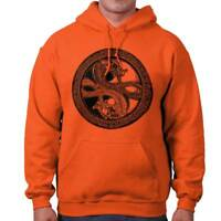 Dragon Yin Yang Japanese Chinese Spiritual Hoodies Sweat Shirts Sweatshirts