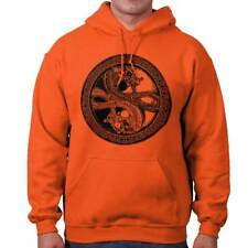 Dragon Yin Yang Japanese Chinese Spiritual Hoodies Sweat Shirts Sweatshirts