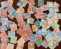 VINTAGE SWEDEN STAMP LOT. STAMPS FROM 1920s, 1930s, 1940s, 1950s