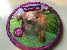 Girl Guides / Scouts Wombat