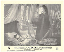 Vendetta Howard Hughes rare original lobby card Faith Domergue near bed