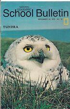 national geographic-SCHOOL BULLETIN-nov 26,1973-TUNDRA.