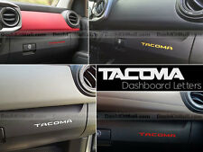 TOYOTA TACOMA 16 17 CHROME DASHBOARD ACCENTS NOT DECALS 2016 2017 DASH LETTERS