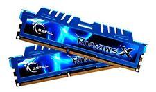 16GB GSkill DDR3 PC312800 1600MHz serie RipjawsX 9-9-9-24 Dual Channel Kit 2x8GB