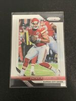 2018 PANINI PRIZM PATRICK MAHOMES ll ROOKIE RC #102 KC Cheifs Great Condition!