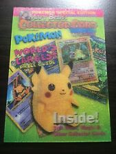 Pikachu Lenticular 3D card from Mary Beth's Collector Card Magazine Rare (#4)