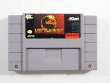 Mortal Kombat (Super Nintendo Entertainment System, 1993) SNES CLEANED TESTED