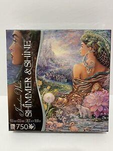 "Josephine Wall's Glitter Jigsaw Puzzle 750 Pc ""Untold story"" Shimmer Shine"