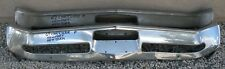 X CHRYSLER NEWPORT NEW YORKER NEW TRIPLE PLATED CHROME FRONT BUMPER 1967 67 OEM