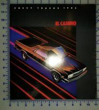 1985 Chevrolet El Camino Brochure Original