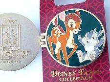 Disney pin Dlr Grand Californian Hotel & Spa Hinged Pin Bambi & Thumper