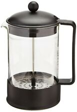 BODUM 1552-01US BRAZIL Coffee Maker, French Press Coffee Maker, Black, 51 Ounce