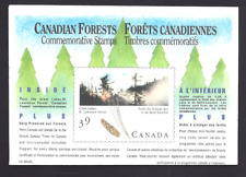 Canada  # 1284  CANADIAN FOREST COMPLETE  COMMEMORATIVE SET  VF-NH