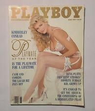 Playboy Magazine June 1989 with Centerfold