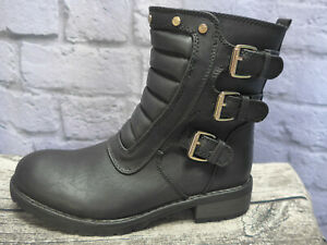 TOM TAILOR Boots Booties Boots Children Black Size 35(238)New