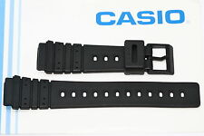 CASIO 20MM BLACK RUBBER SPORT WATCH BAND STRAP FITS DW1000 DW1500C DW2000