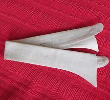 Marcella Vestido Cuello Polo Talla 15.5 Vintage 1950s 1960s para hombre desgaste de la tarde