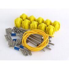 GEMINI grip standard Kit di montaggio-giallo-Long Tail Wire - 10 Set