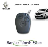 Brand New Genuine Renault Trafic III  - 3 Button Ignition Key Fob Plip with Chip