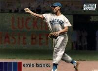 2020 Stadium Club Chrome BASE #110 Ernie Banks Chicago Cubs HOF