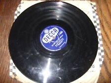 "David Whitfield - I'll Find You/I'd Give You The World 78rpm 10"" Record"