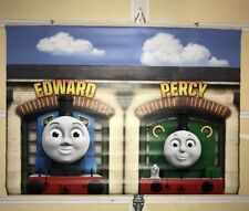 Thomas and Friends Toys R US Display Vinyl Banner Percy And Edward  4' X 3'