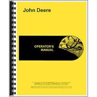 Operators Manual Fits John Deere Tractor 750
