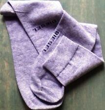 BNWT Premium Quality Minimalist Design DIESEL Socks Subtle Logo Details Size S