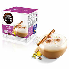 Dolce Gusto Chai Latte Machiato café (3 Cajas, Total 48 cápsulas) 24 porciones