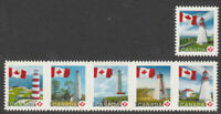 FLIPPED Image Error = LIGHTHOUSE = DIE CUTs Canada 2007-08 #2253i-2253Bi [ec217]