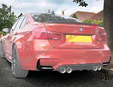 BMW M3 M4 Fibra de Carbono Parachoques Trasero Alerones - F80 F82 F83 -