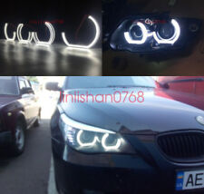 4pcs Angel Eyes DTM STYLE M4 STYLE For BMW 5 SERIES E60 E61 2008 2009 2010 M5