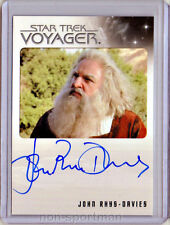 QUOTABLE STAR TREK VOYAGER JOHN RHYS-DAVIES AUTOGRAPH