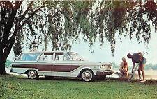 1963 FORD FAIRLANE SQUIRE WAGON AUTOMOBILE ADV CHROME P/C