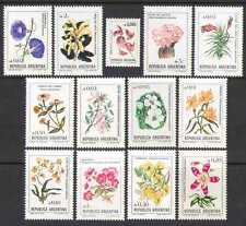 Argentina 1985 Flowers/Cactus/Plants/Nature/Cacti/Lily/Orchids 13v set (n26703)