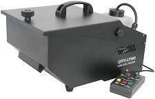 QTFX-LF900 bajo nivel Nebulizador Niebla Humo Máquina de efecto hielo seco Discoteca Dj Boda
