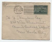 1893 Boston MA 3 cent Columbian on cover to New York [y3490]