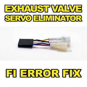Servo Eliminator Kawasaki ZX6R ZX636 2005-2019 FI Error Fix Exhaust Valve Buddy